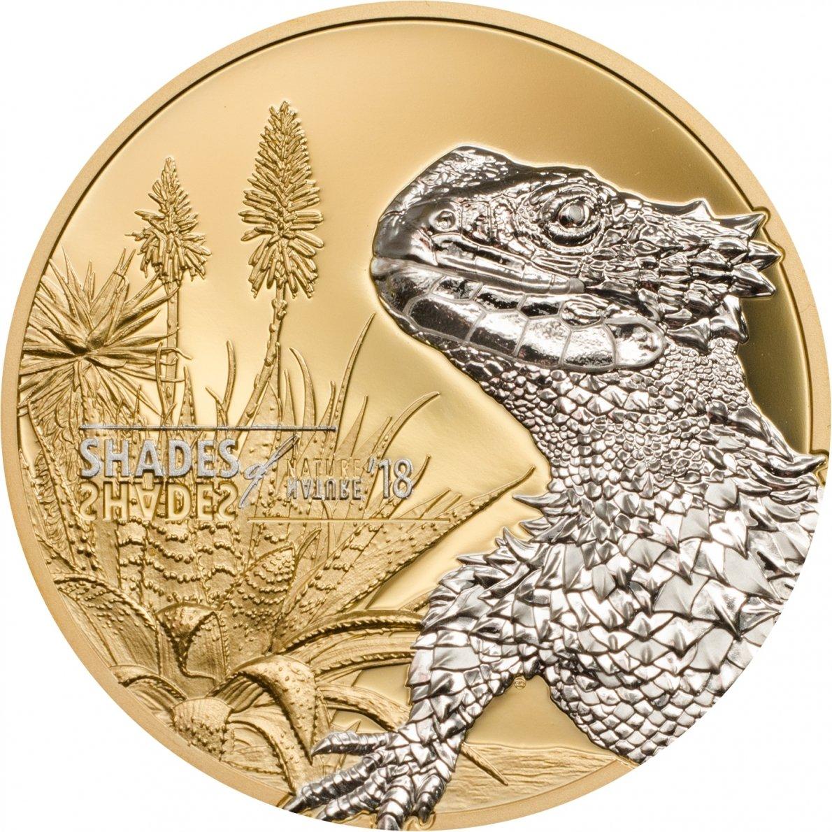 para proporcionarle una compra en línea agradable Reducción de precio Shades of Nature - Zonuro Zonuro Zonuro Gigante 5 Moneda Plata - Islas Cook 2018  alta calidad y envío rápido