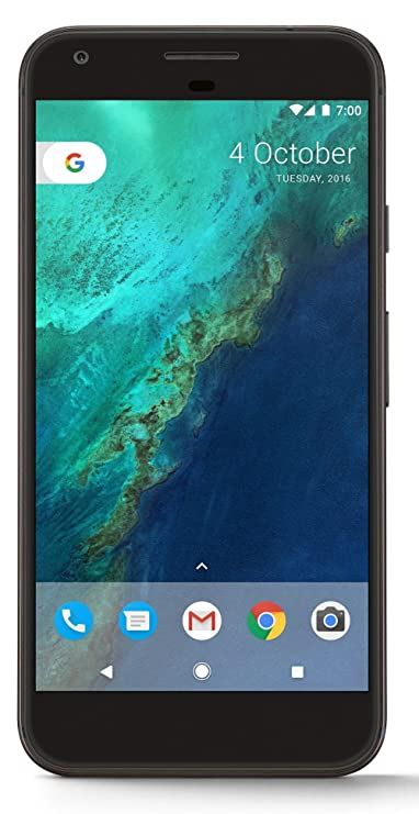Google Pixel XL (Quite Black, 32GB) Smartphones at amazon