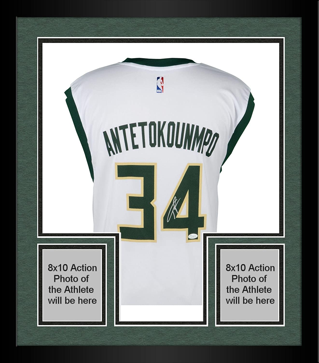 Framed Giannis Antetokounmpo Milwaukee Bucks Autographed Adidas White  Replica Jersey - Fanatics Authentic Certified at Amazon s Sports  Collectibles Store 3d32282b2
