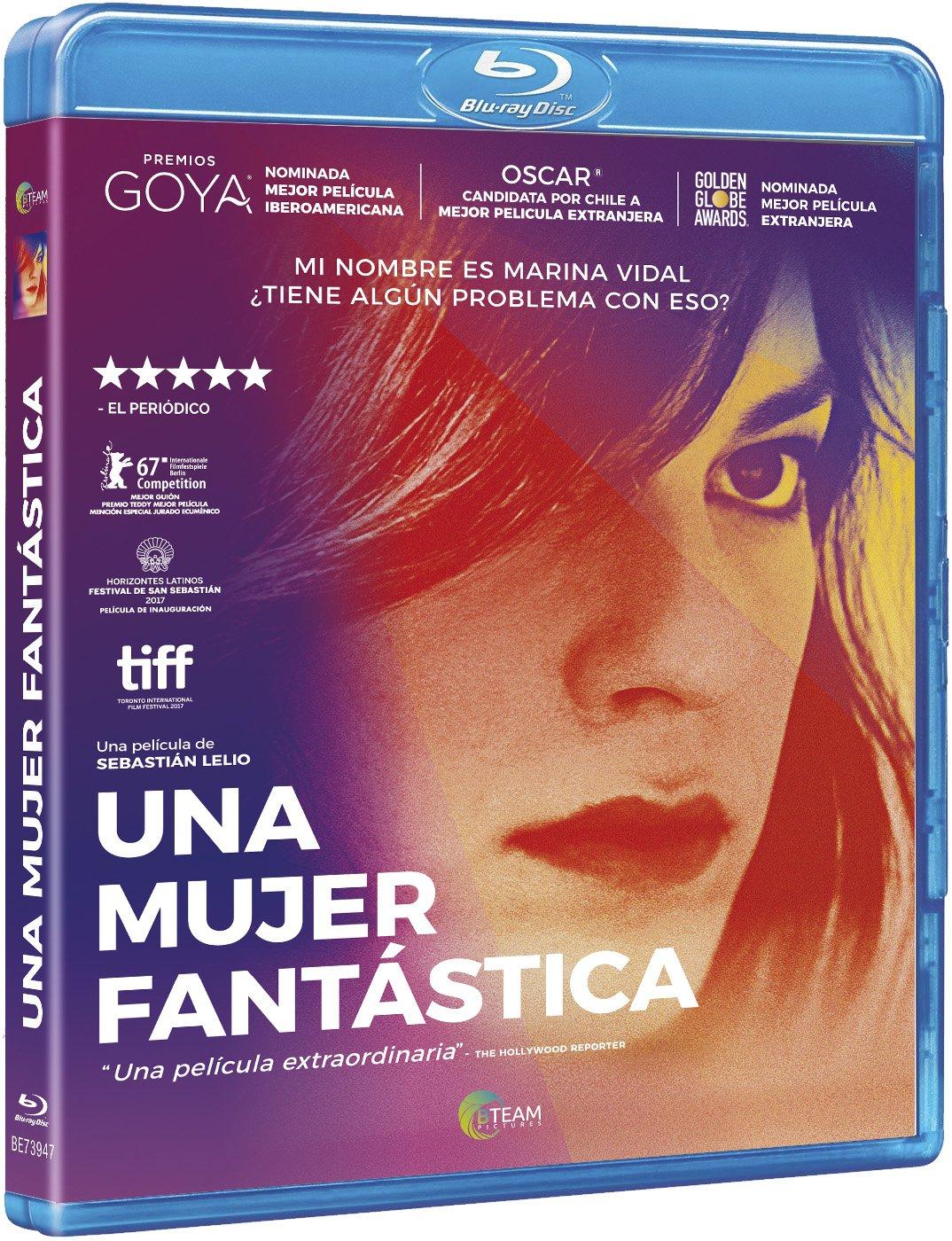 Una mujer fantástica [Blu-ray]: Amazon.es: Daniela Vega ...