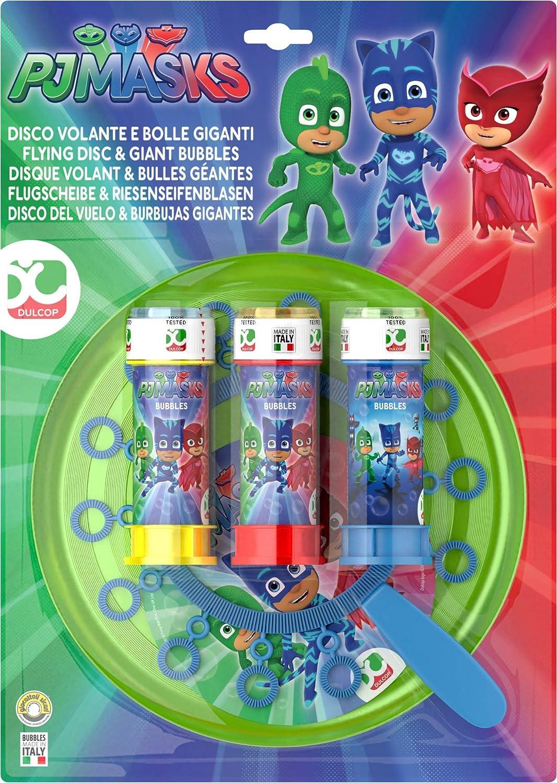 Dulcop - Disco Volador y Burbujas de jabón Gigantes, Modelo ...