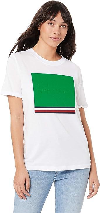 Tommy Hilfiger Brooke C-nk tee SS Camiseta para Mujer: Amazon.es: Ropa y accesorios
