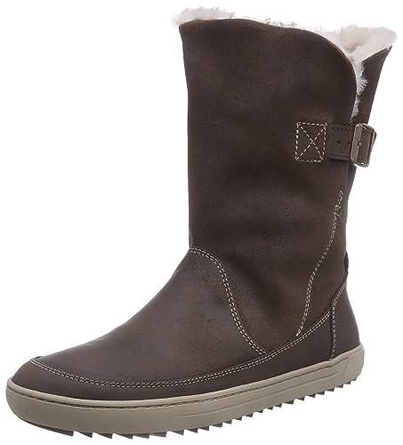 caa6126704d873 BIRKENSTOCK Woodbury Damen Halbschaft Stiefel  Amazon.de  Schuhe ...