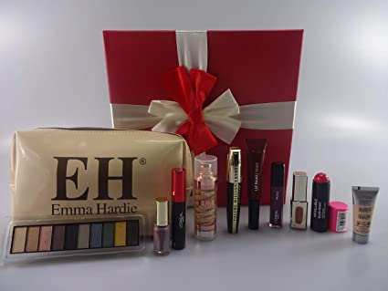 LOreal - Cesta de regalo para maquillaje con diseño de bloque de belleza,