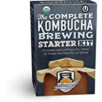 Fermentaholics The Complete Kombucha Brewing Starter Kit: Live