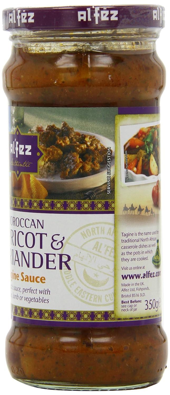 Alfez Apricot & Coriander Tagine (pack de 6 x 350 gr): Amazon.es: Alimentación y bebidas