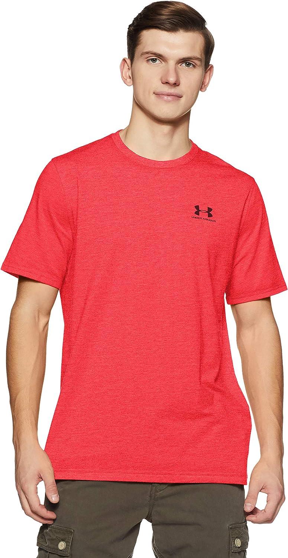 Under Armour Herren Fitness T-Shirt Cc Left Chest Lockup