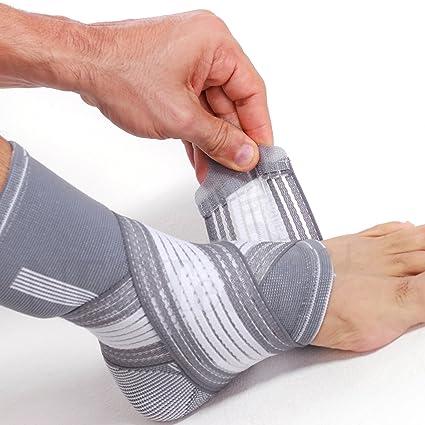 Chevillière de marque Neotech Care - Compression AJUSTABLE - Protège-cheville  pour gym sport - 7f26b6c97d9