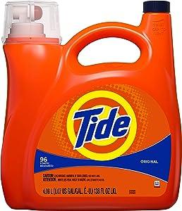 Tide Liquid Laundry Detergent, Original, 96 Loads 138 Fl Oz