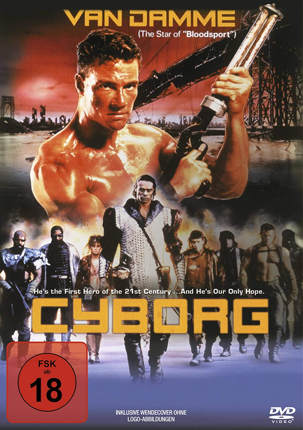 Cyborg (Action Cult, Uncut) [Alemania] [DVD]: Amazon.es ...