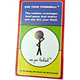 Use Your Thinkball Creative Scavenger Hunt Game For The Brainy, The Clever, The Resourceful