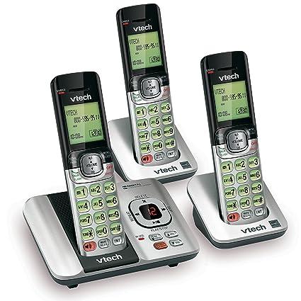 amazon com vtech cs6529 3 3 handset expandable cordless phone with rh amazon com vtech cs6929-3 user manual vtech cs6529-3 dect 6.0 manual