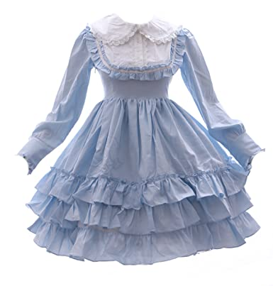 Kawaii-Story JL de 564 Azul Blue Gothic Lolita Sweet Japón Vestido Disfraz Dress Cosplay