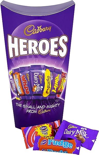 Cadbury Heroes Chocolate Carton, 290 g, Pack of 6: Amazon.es: Alimentación y bebidas