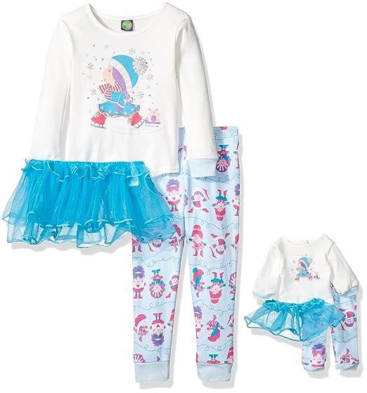 Dollie   Me Big Girls  Ice Skater Tutu Snugfit Sleepwear Set b3b6b58d3