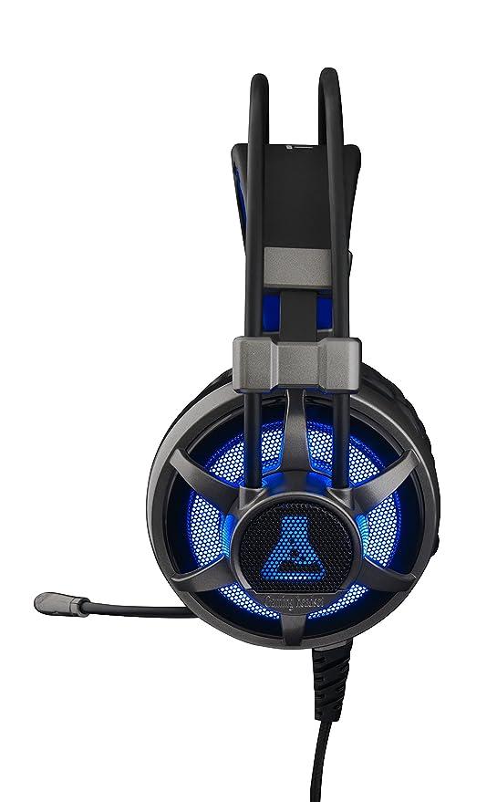 The G-Lab KORP Selenium - Cascos Gaming (Retroiluminación. Sonido Xtra Bass. Compatibles con PC, Xbox y PS4): The: Amazon.es: Informática