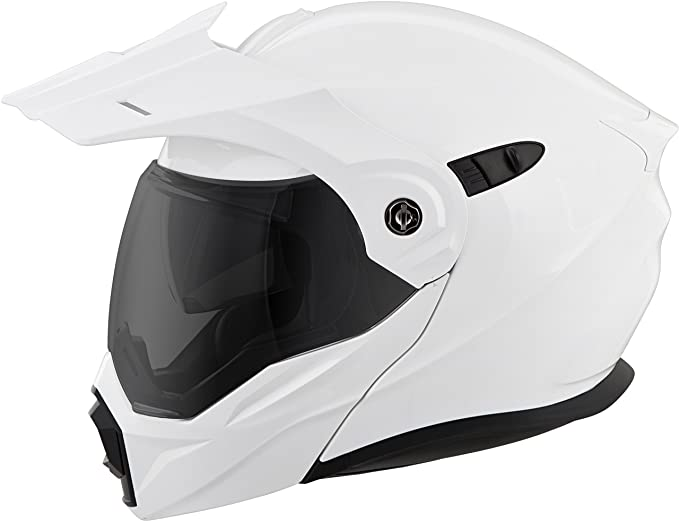 Amazon.com: Scorpion EXO-AT950 Helmet - Solid (LARGE) (WHITE): Automotive