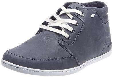Boxfresh EAVIS LEATHER, Herren Sneakers Navy/Weiß 40