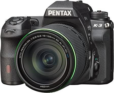 Pentax K3+18-135WR - Kit de cámara réflex Digital con Objetivo 18 ...