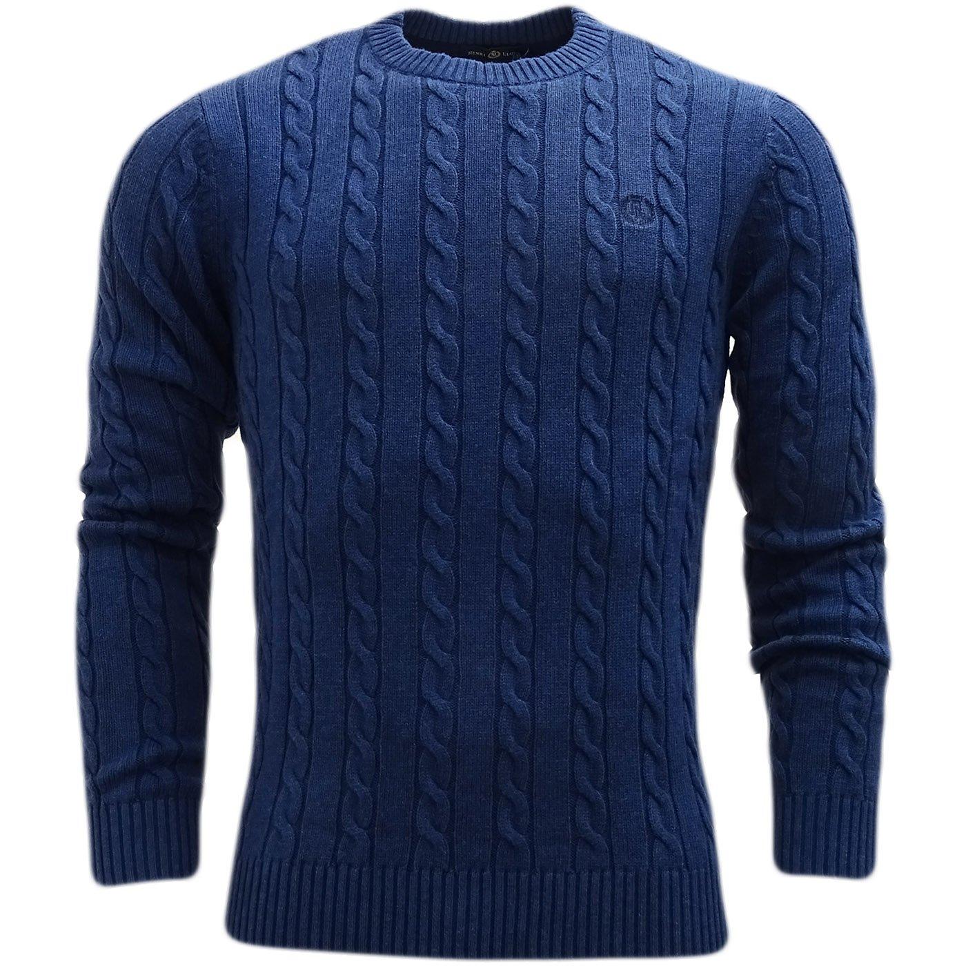 Henri Lloyd Cable Knitwear Jumper - Kramer Navy L