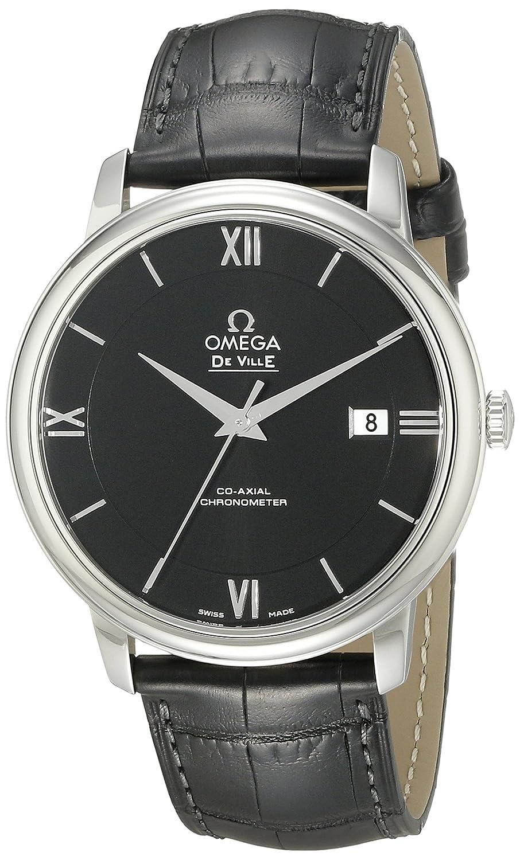Omega - Reloj de Pulsera analógico automático para Hombre Piel 42413402001001: Amazon.es: Relojes