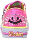 Skechers Kids Girls' Shuffles-Stylin' Smiles