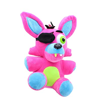 Toynk Five Nights at Freddy's 10 Inch Plush - Neon Pink Foxy: Toys & Games