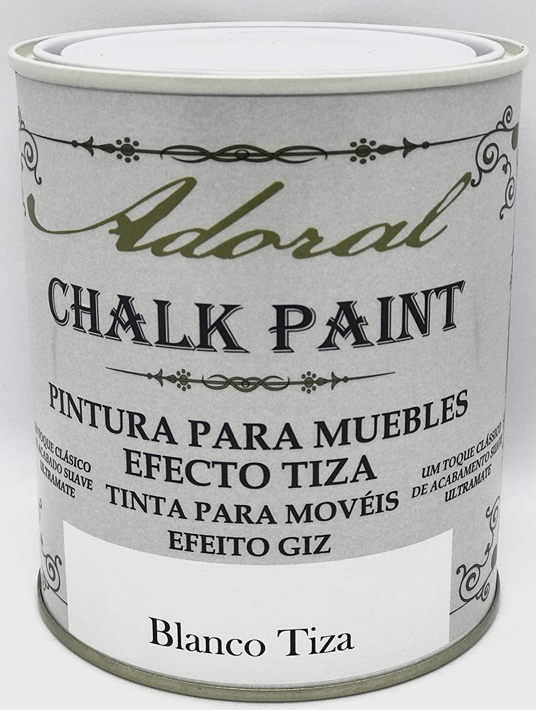 Adoral - Pintura Chalk Paint Pintura a la Tiza (Blanco Tiza) 125 ml