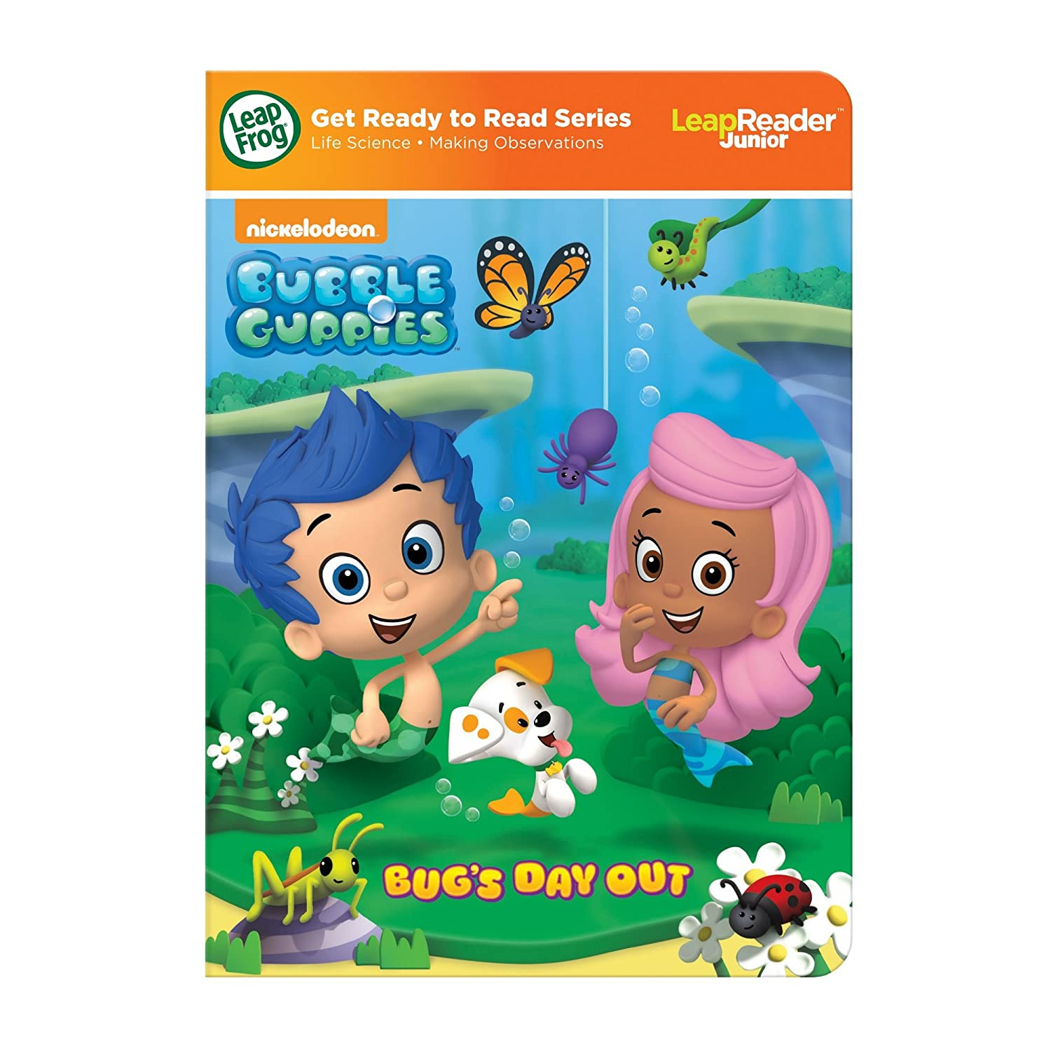 amazon com leapfrog nickelodeon bubble guppies bug u0027s day out