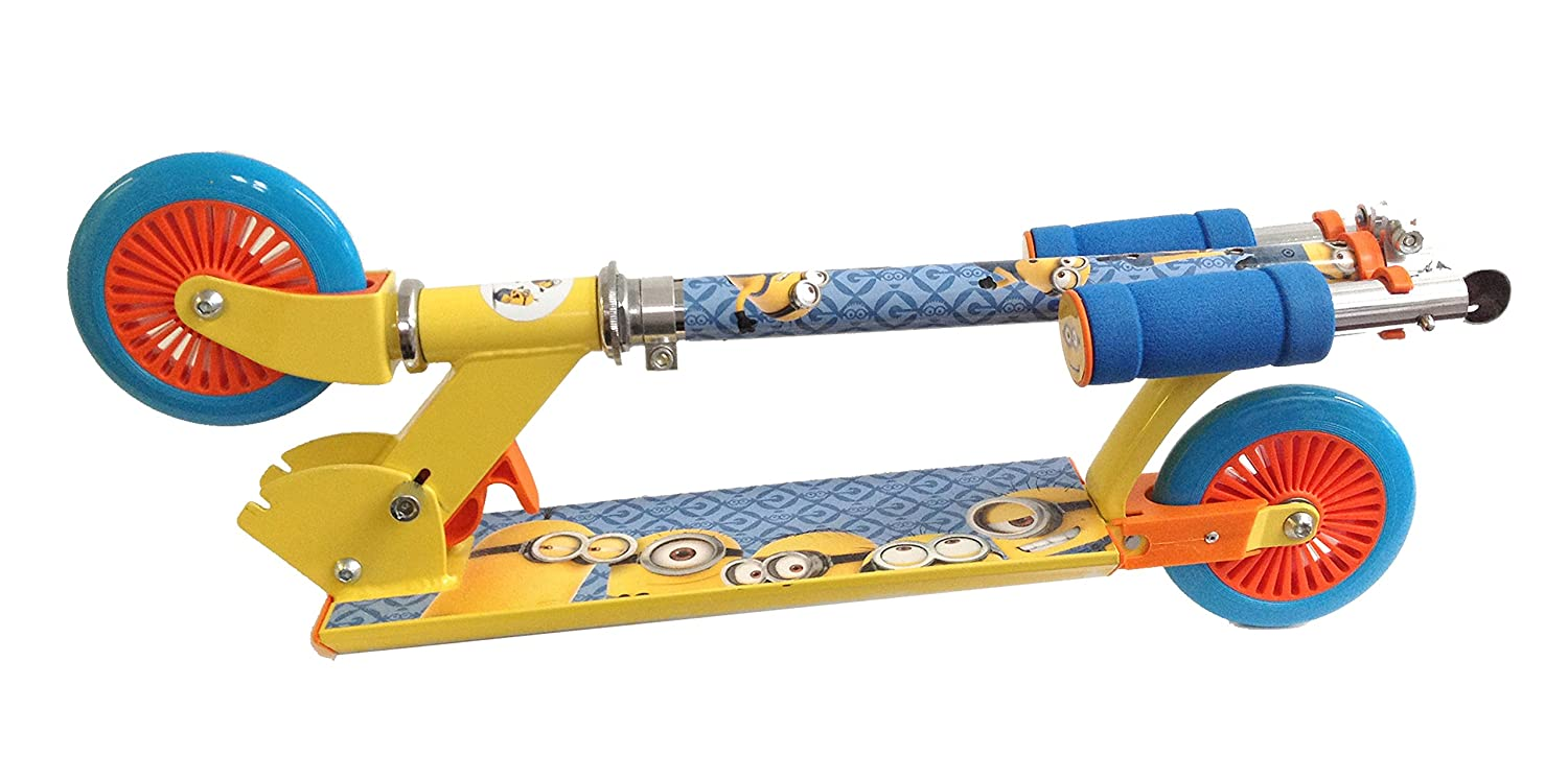 Amazon.com: Despicable Me patinete plegable de Inline ...