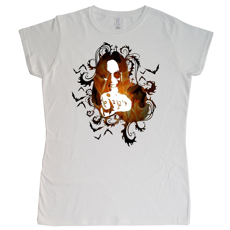 Stooble Womens's Ozzy Osbourne T-Shirt Stooble - 1ClickPrint