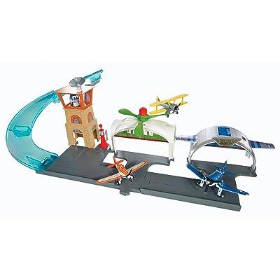 Disney Planes Propwash Junction Airport Playset: Toys & Games [5Bkhe0902513]
