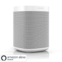 All-new Sonos One - Smart Speaker with Alexa voice control built-In. Compact size with incredible sound for any room. (White)