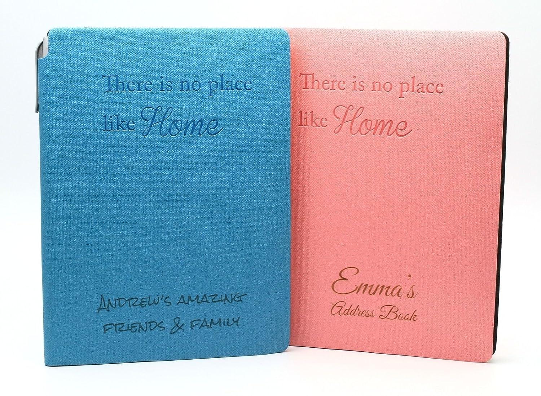 Personalised Address Telephone Book & Pen holder A5 | Custom Bespoke Engraved Gift CustomDesign.Shop