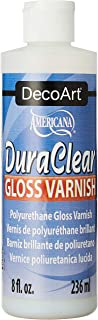 product image for DecoArt DS19-9 American DuraClear Varnishes, 8-Ounce, DuraClear Gloss Varnish