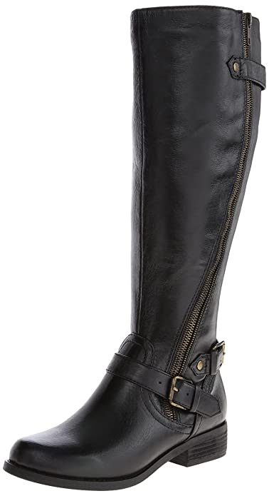8e6bd059d21 Steve Madden Women s Synicle Motorcycle Boot