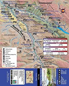 Map The Experience - Roaring Fork River Map