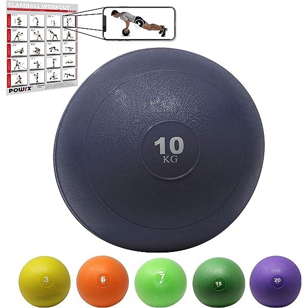 Amber Athletic Gear Rubber Medicine Ball - Bola de medicina de ...