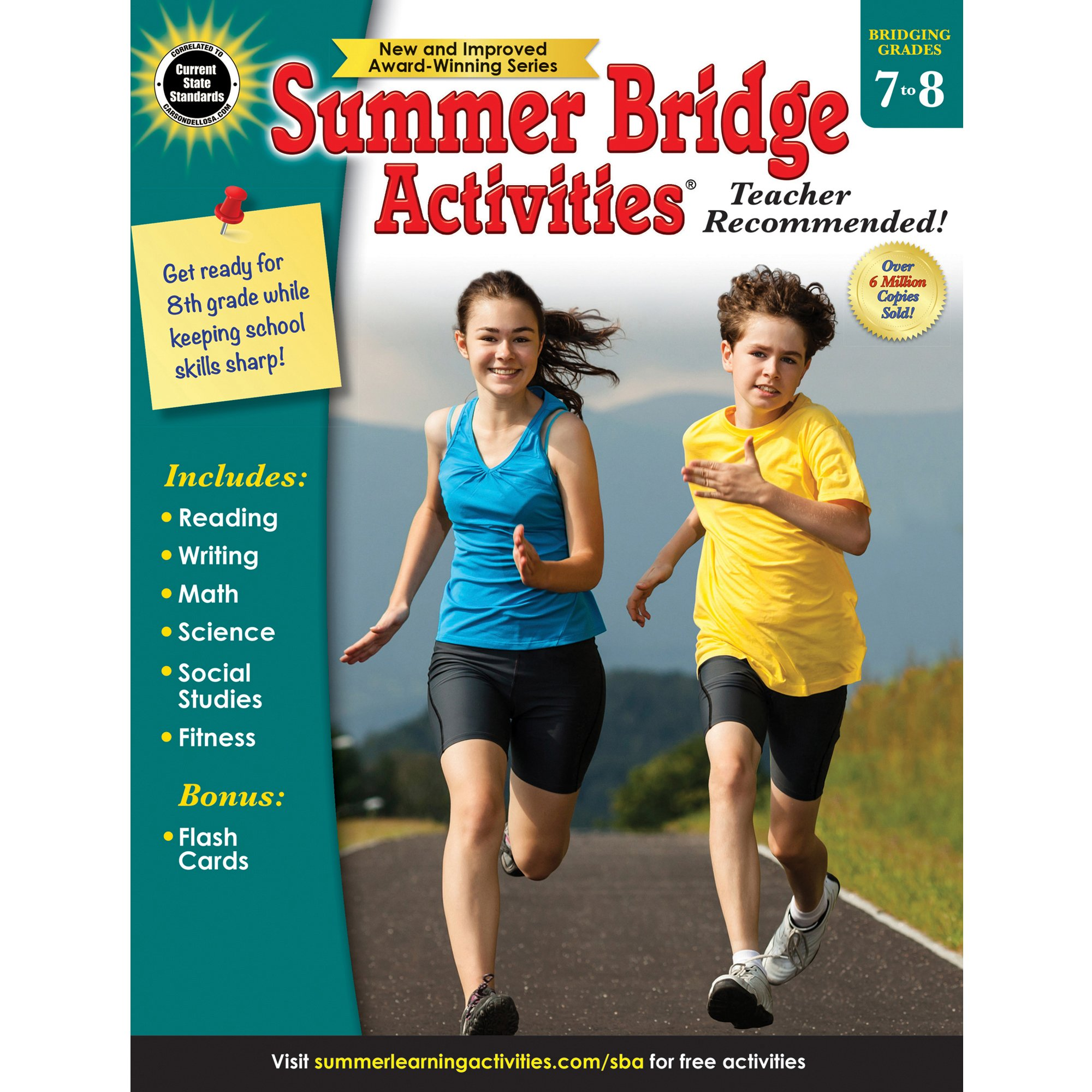 Summer Bridge Activities, Grades 7 - 8: Summer Bridge Activities ...