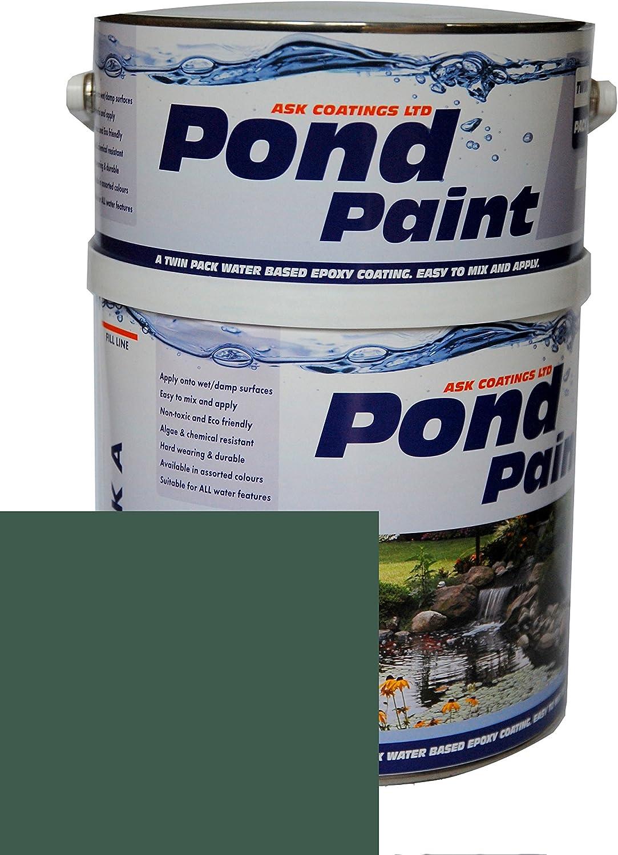 Resina epoxi agua pintura 2.5L estanque: Amazon.es: Bricolaje y ...