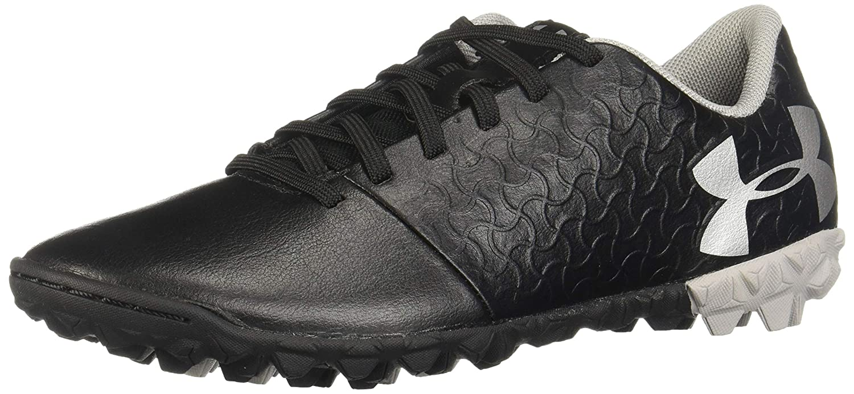 Under Armour Magnetico Select JR Turf Soccer Shoe Black //Metallic Silver 5 3000124 001