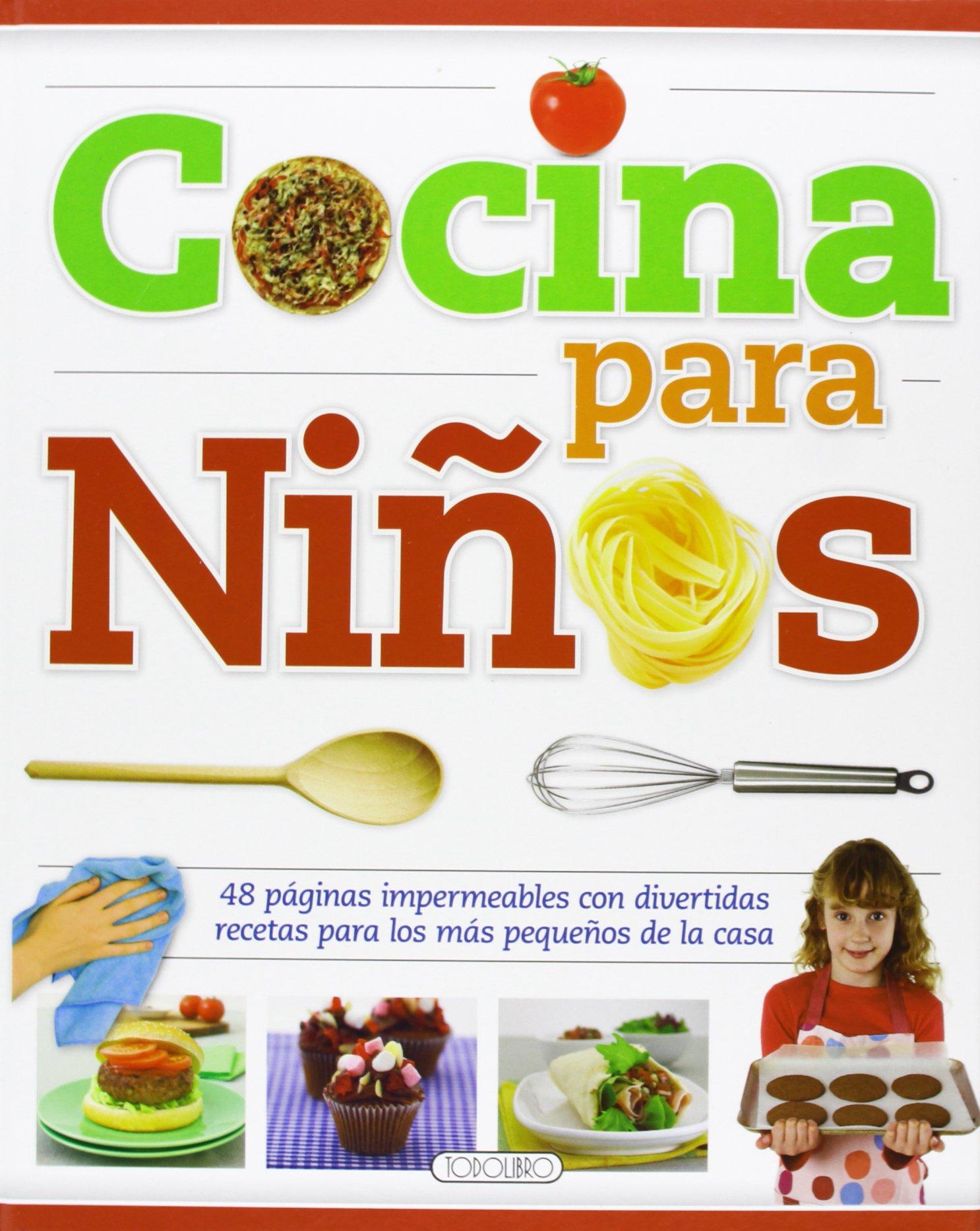Recetas De Cocina Niños | Cocina Para Ninos Amazon Es Equipo Todolibro Libros