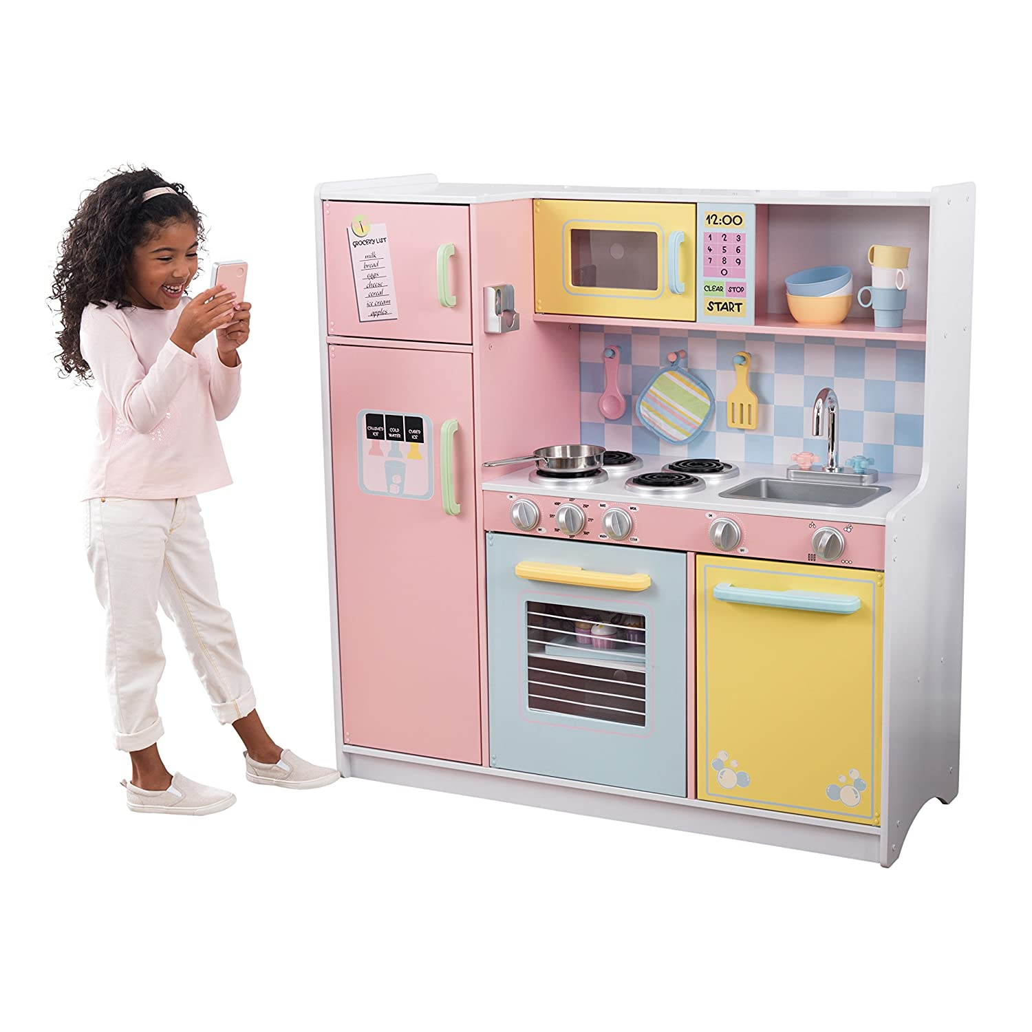 Amazon Com Kidkraft Large Kitchen Toys Games