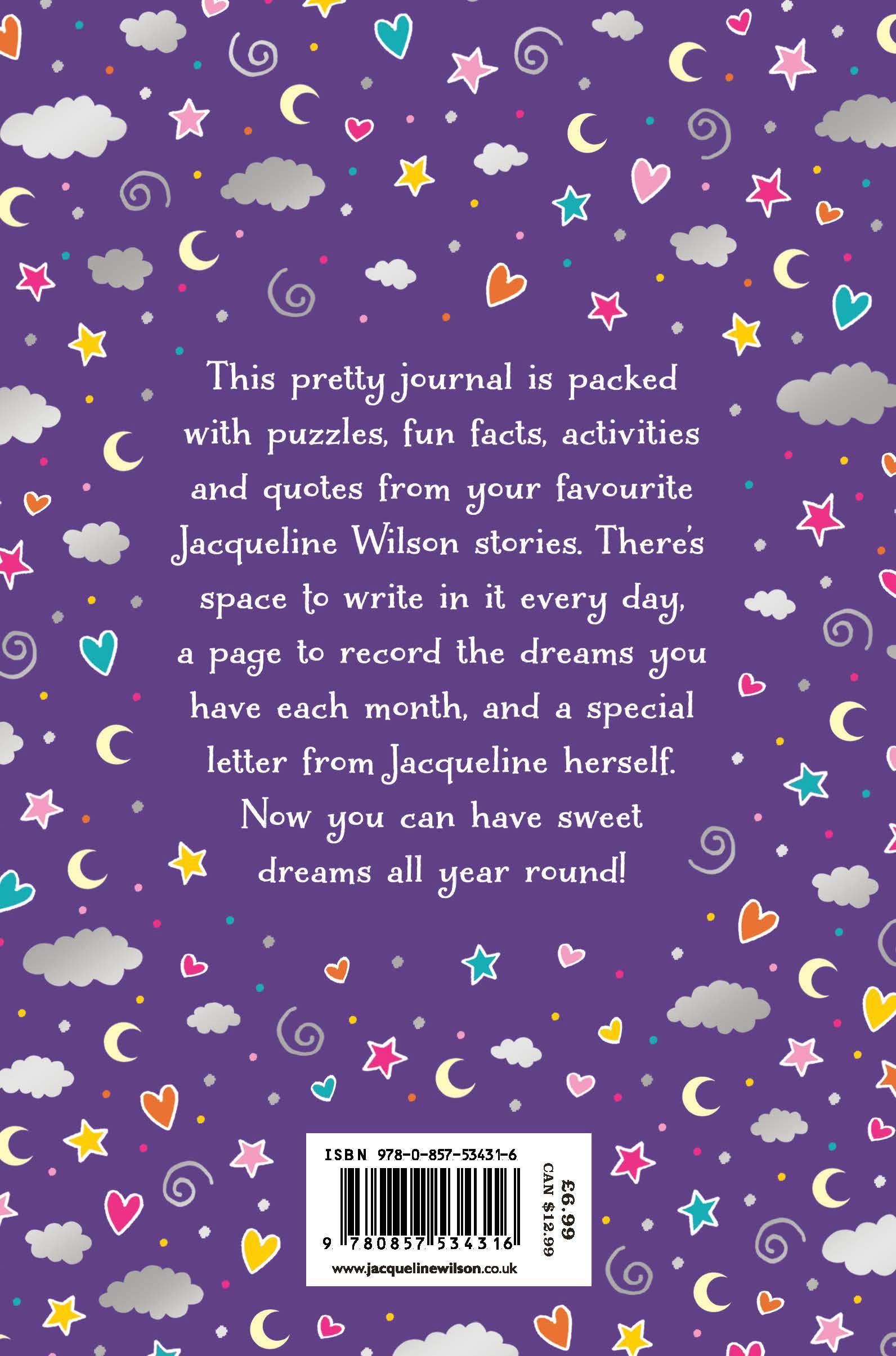 Jacqueline Wilson Dream Journal Jacqueline Wilson 9780857534316