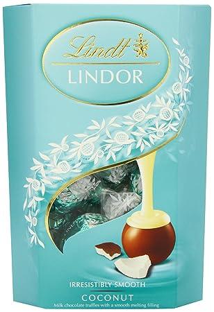 Lindt Trufas De Chocolate De Leche De Coco Lindor (200g): Amazon.es: Hogar
