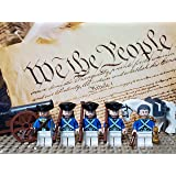 LEGO Revolutionary War era George Washington and The Continental Army Colonial Soldiers