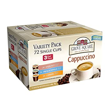 Grove Square Cappuccino K-cups