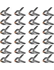 Neewer 24-pack Pince à Ressort de Toile de Fond en Mousseline 11,4 cm Pince Robuste pour Fond Photo Studio Photographie, Toile, Création ou Utilisation à Domicile