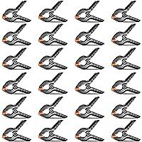 Neewer 24-Pack Muslin Hintergründe Federklemme 11,4 Zentimeter Schwer Duty Klammer für Fotostudio Fotografie Hintergründe, Leinwand, Artwork oder Zuhause Anwendungen