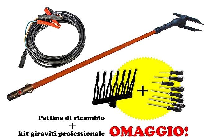 2 opinioni per United Trade Raccogli Olive abbacchiatore Elettrico Potenza 140w voltaggio 12v